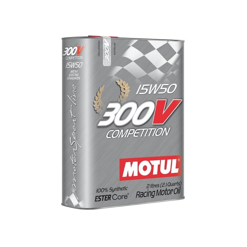 huile moteur motul 300v comp tition 15w50 bidon de 2l grand prix racewear c te d 39 azur. Black Bedroom Furniture Sets. Home Design Ideas