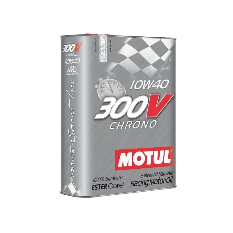 motul 300v chrono 10w40 engine oil grand prix racewear. Black Bedroom Furniture Sets. Home Design Ideas