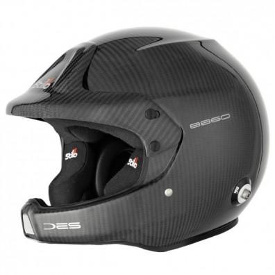 Stilo WRC DES Rally Carbon 8860 race helmet
