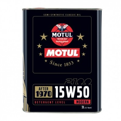 Motul classic oil 2100 15W50 engine oil