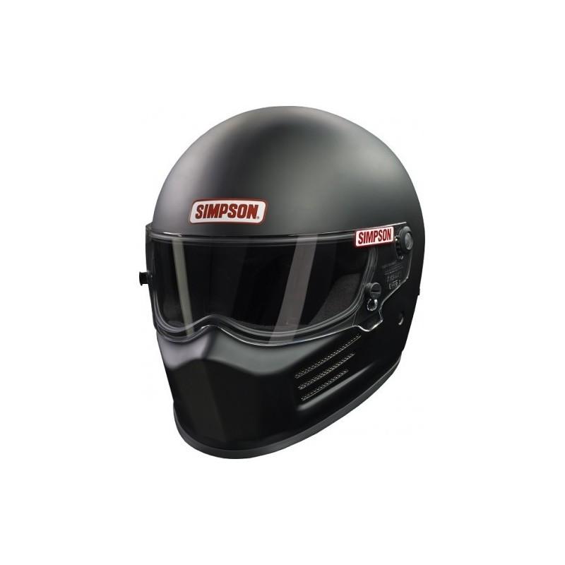 casque automobile et karting simpson bandit noir mat grand prix racewear. Black Bedroom Furniture Sets. Home Design Ideas