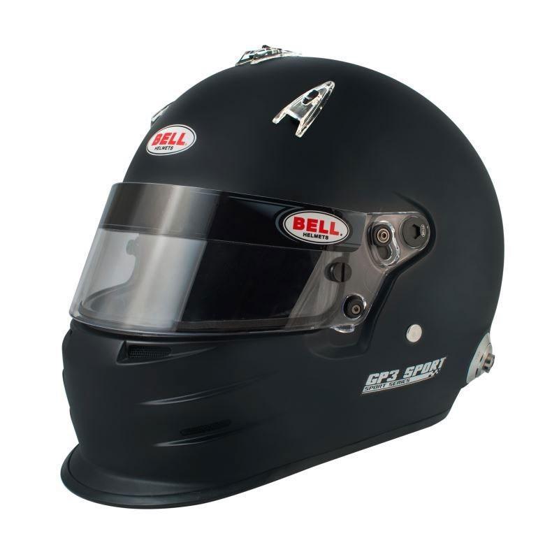 Bell Gp3 Sport Race Helmet Mat Black Grand Prix Racewear
