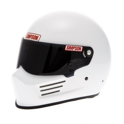 Casque automobile et karting Simpson BANDIT blanc