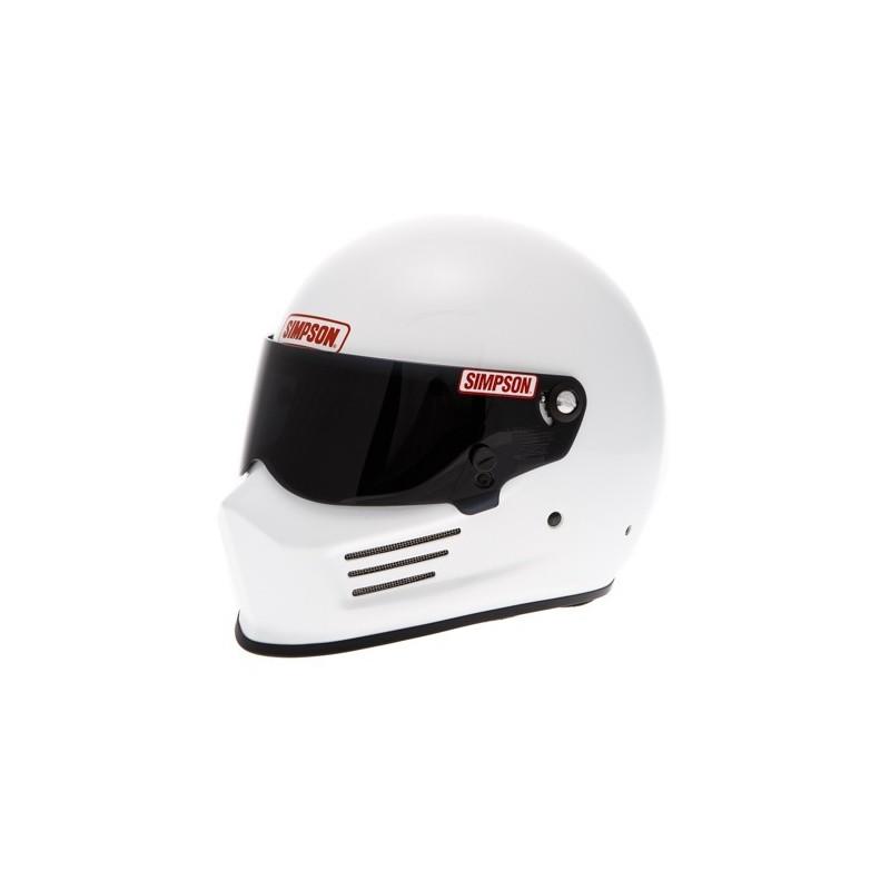 casque automobile et karting simpson bandit blanc grand prix racewear. Black Bedroom Furniture Sets. Home Design Ideas