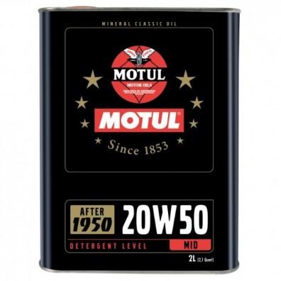 Motul classic oil 20w50 engine oil