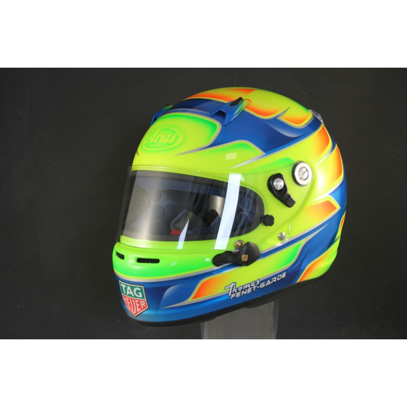 Custom Helmet Painting Grand Prix Racewear