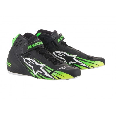 Bottines karting Alpinestars Tech 1 KZ Limited green 2018
