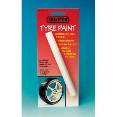 Marqueur blanc pour pneus