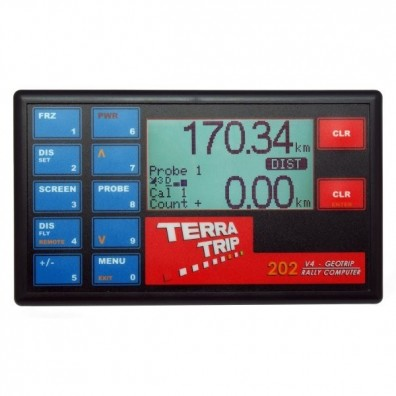 Tripmaster TERRATRIP 202 GeoTrip + GPS