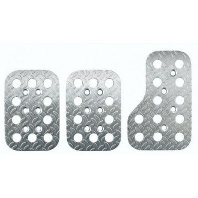 Sparco Pre-Curved Anodised Aluminium Pedal Set