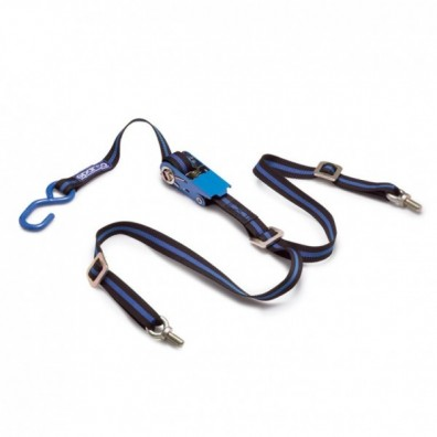 Sparco spare wheel tie downs