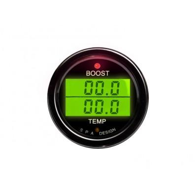 SPA DESIGN Turbo Boost/Temperature Gauge