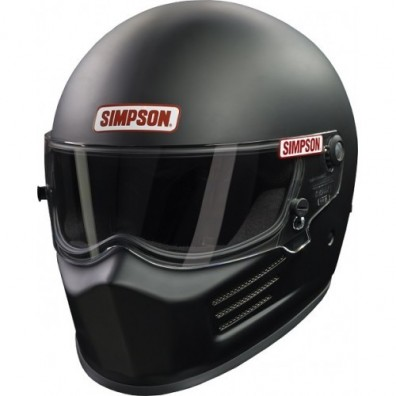 Casque automobile et karting Simpson BANDIT noir mat