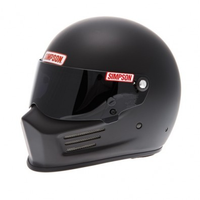 Casque automobile et karting Simpson BANDIT noir mat