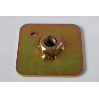 FIA harness bolt plate