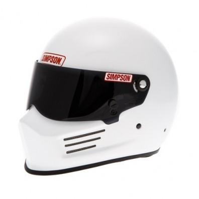Simpson Bandit race helmet white