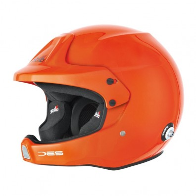 Stilo WRC DES rally & offshore helmet Fluo orange