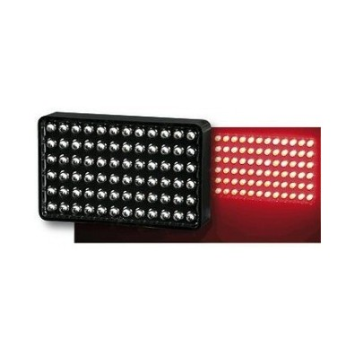 Feu de pluie 72 LEDS FIA rectangle
