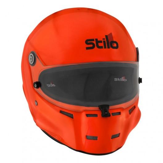 Casque auto & offshore Stilo ST5 F composite orange Fluo