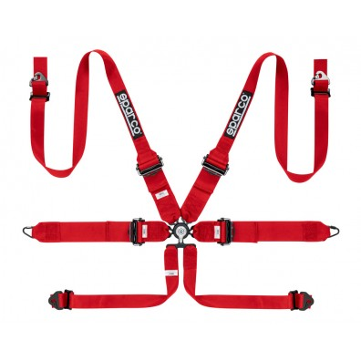 Sparco  6 Point HANS FIA Harness