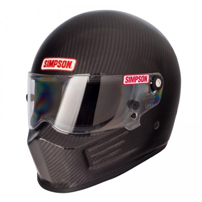 Casque automobile et karting Simpson BANDIT Carbone