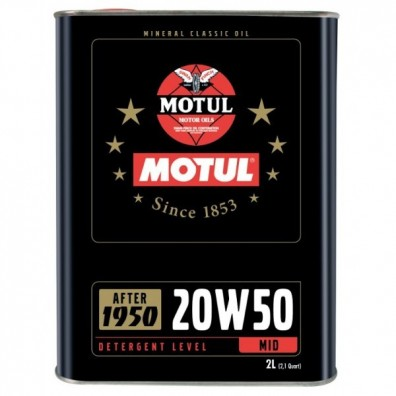 Motul classic oil 20w50 engine oil
