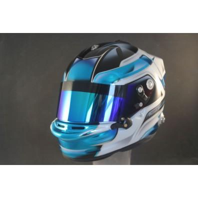 Custom helmet painting