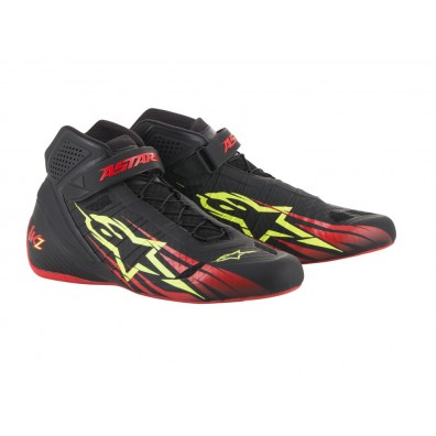 EXCLUSIVITE FRANCE ! Bottines karting Alpinestars Tech 1 KZ Limited red 2018