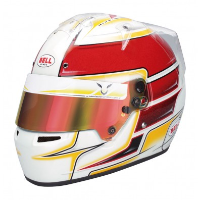 PACK CASQUE KARTING BELL KC7-CMR 2016 LEWIS HAMILTON