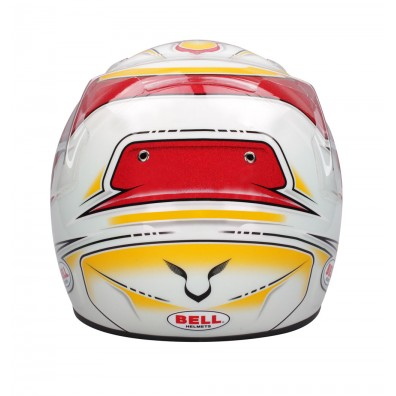 casque karting Bell KC7 Lewis Hamilton rouge/blanc