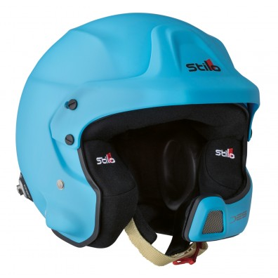 Casque rallye automobile Stilo WRC DES composite bleu