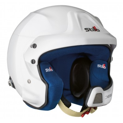 Casque rallye automobile Stilo WRC DES composite blanc