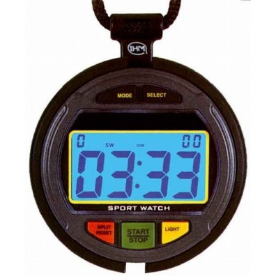 Co-driver stopwatch