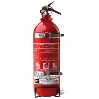 OMP Fire extinguiher 2 kg powder FIA