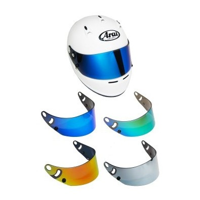 Arai pack with cK6 helmet and iridium visor