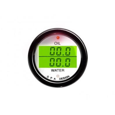 Oil Temperature/Water Temperature Gauge