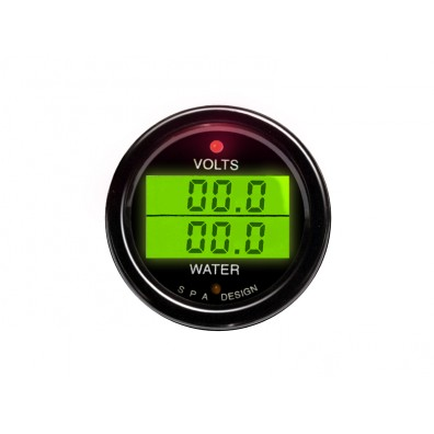 Volts/Water Temperature Gauge (DG204)