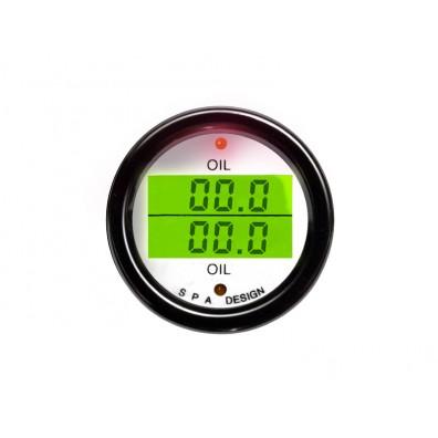 Oil Pressure/Oil Temperature Gauge