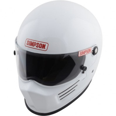 Simpson Bandit race helmet white