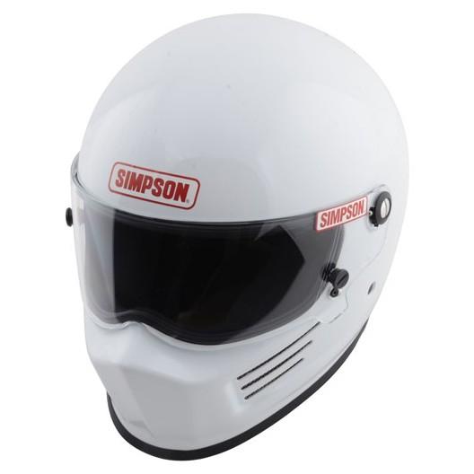 Casque automobile et karting Simpson BANDIT  blanc