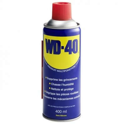 LUBRIFIANT MULTIFONCTIONS WD 40 400 ML