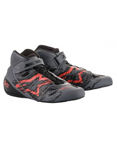 Bottines karting Alpinestars  Tech 1 KZ  SUPERSONIC GREY