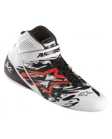 Bottines karting Alpinestars  Tech 1 KZ  SUPERSONIC WHITE