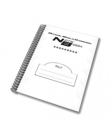 Cahier de notes pour le rallye