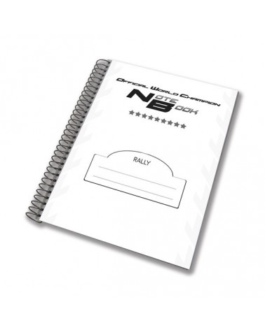 Rally note book