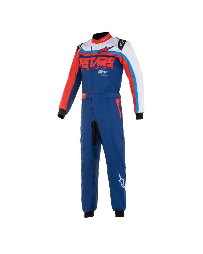 Alpinestars KMX9 V2 GRAPH 2 BLUE kart suit