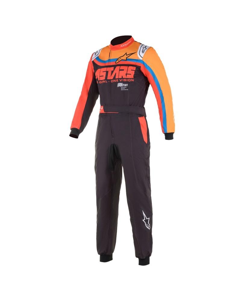 Alpinestars KMX9 V2 GRAPH 2 ORANGE kart suit