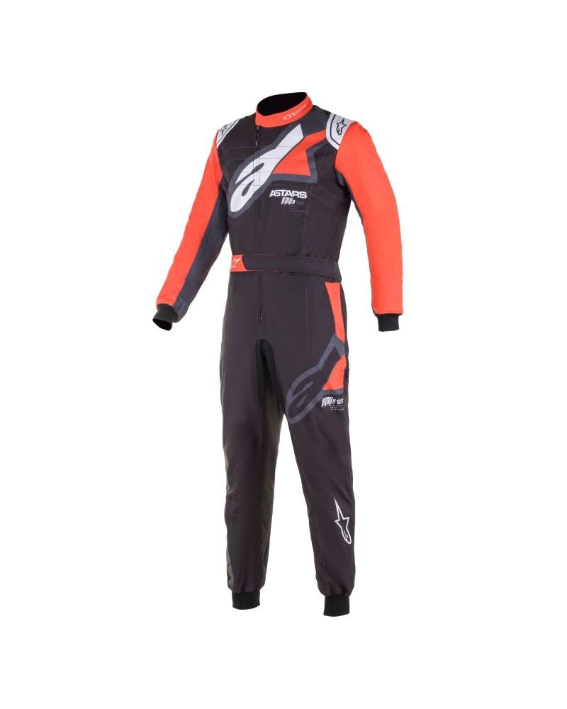 Alpinestars KMX9 V2 GRAPH 1 BLACK kart suit