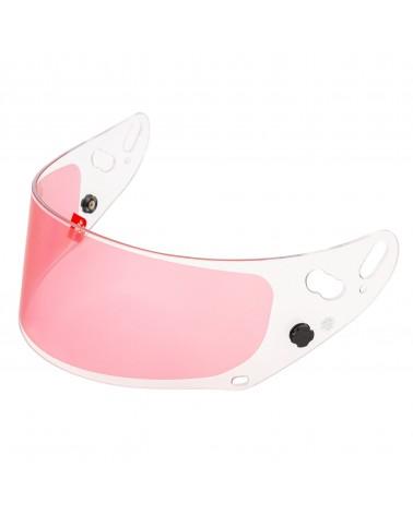 Arai GP7 anti fog visors pink FIA