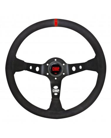 OMP CORSICA steering wheel red